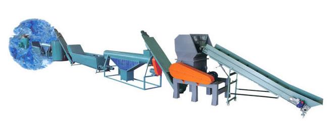 pe_hdpe_bottle_crushing_recycling_machine